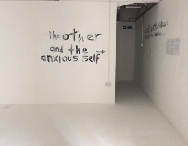 the other and the anxious self